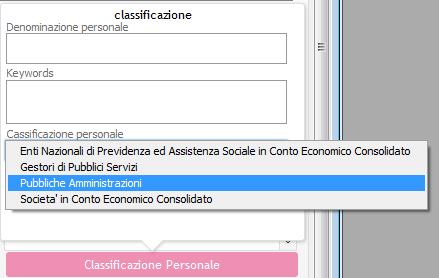 RDO_DETTAGLIO_Altro_Classificazione